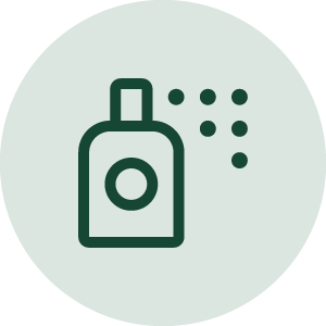 Icon of a spray bottle