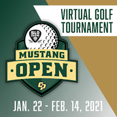 Mustang Open Virtual Golf Tournament from Jan. 22-Feb. 14, 2021
