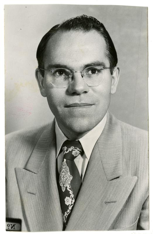 Black and white photo of Chandler from the 1960s