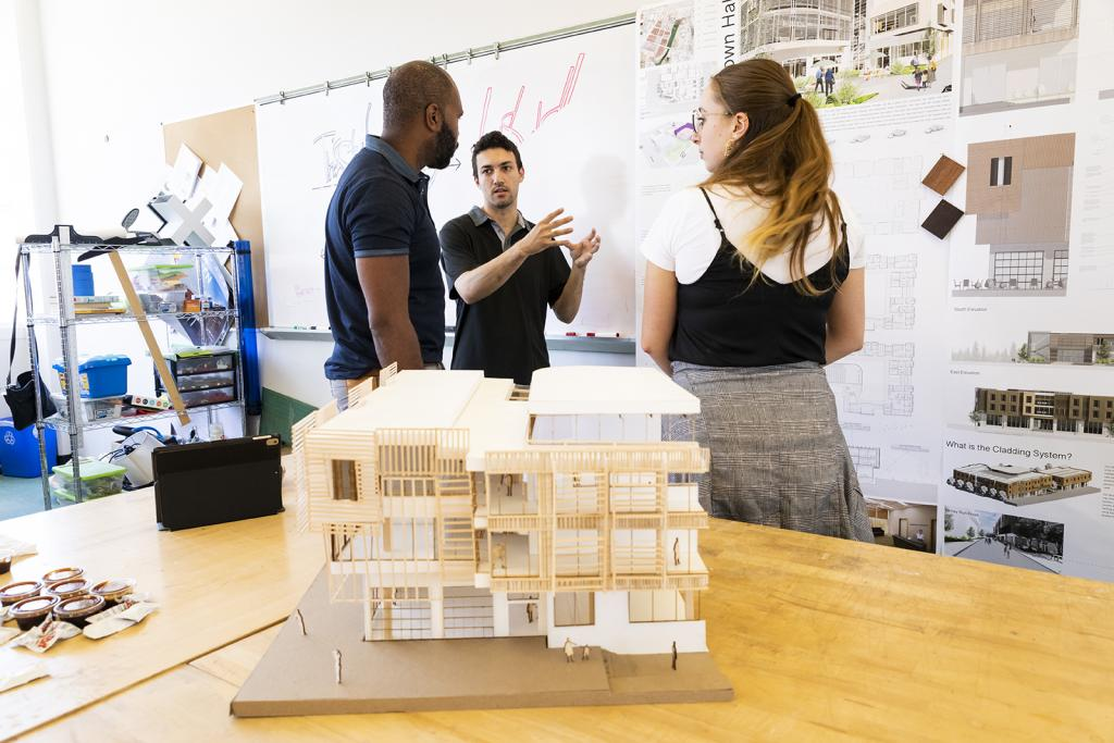 colleges with architecture and interior design materials