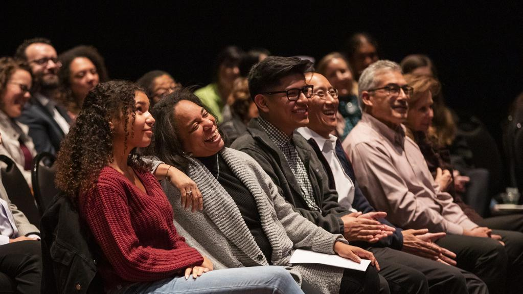 Several CLA faculty at Cal Poly's Cross Cultural Center's third annual event honoring the legacy of Martin Luther King Jr
