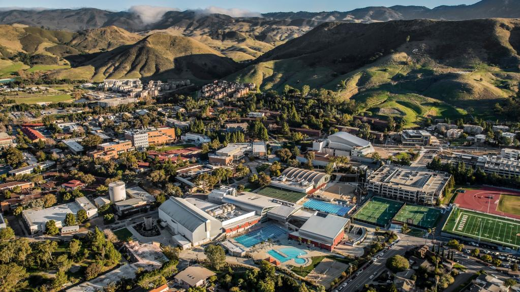 Aerial view of Cal Poly